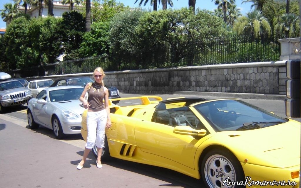 дорогие авто в Ницце
