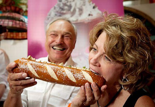 дорогой хот-дог