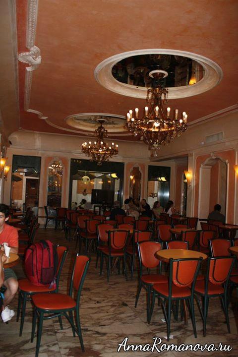 мороженое в Риме-кафе джолитти