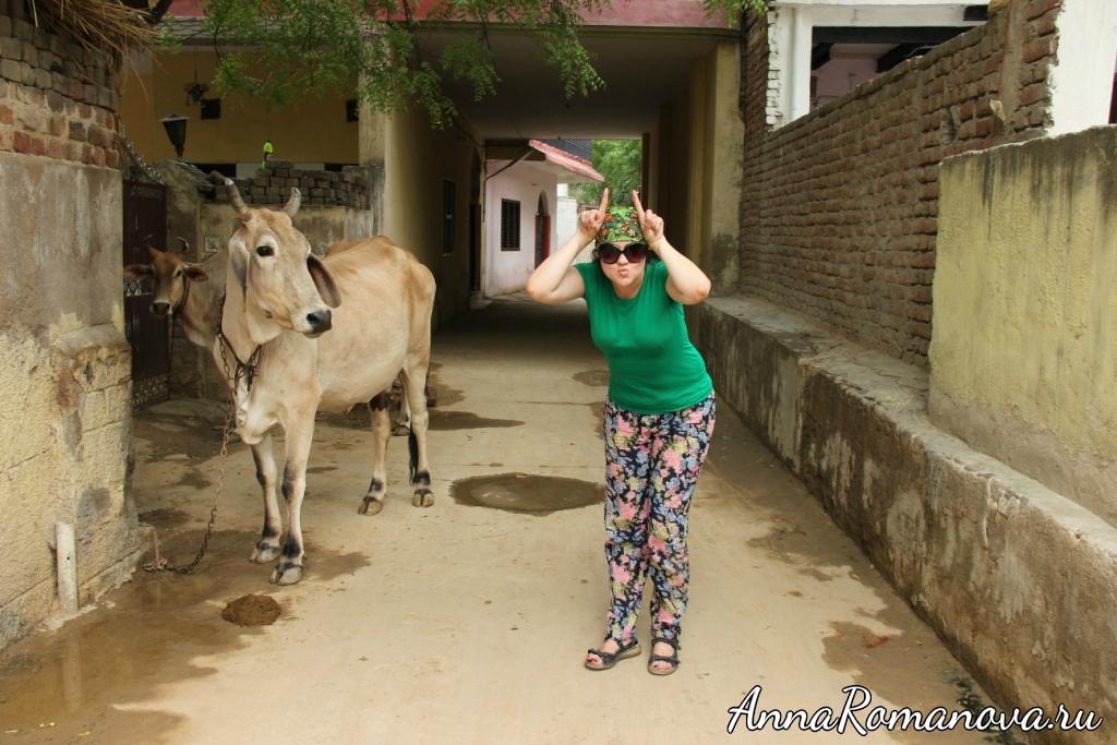 Анастасия Романова в Индии