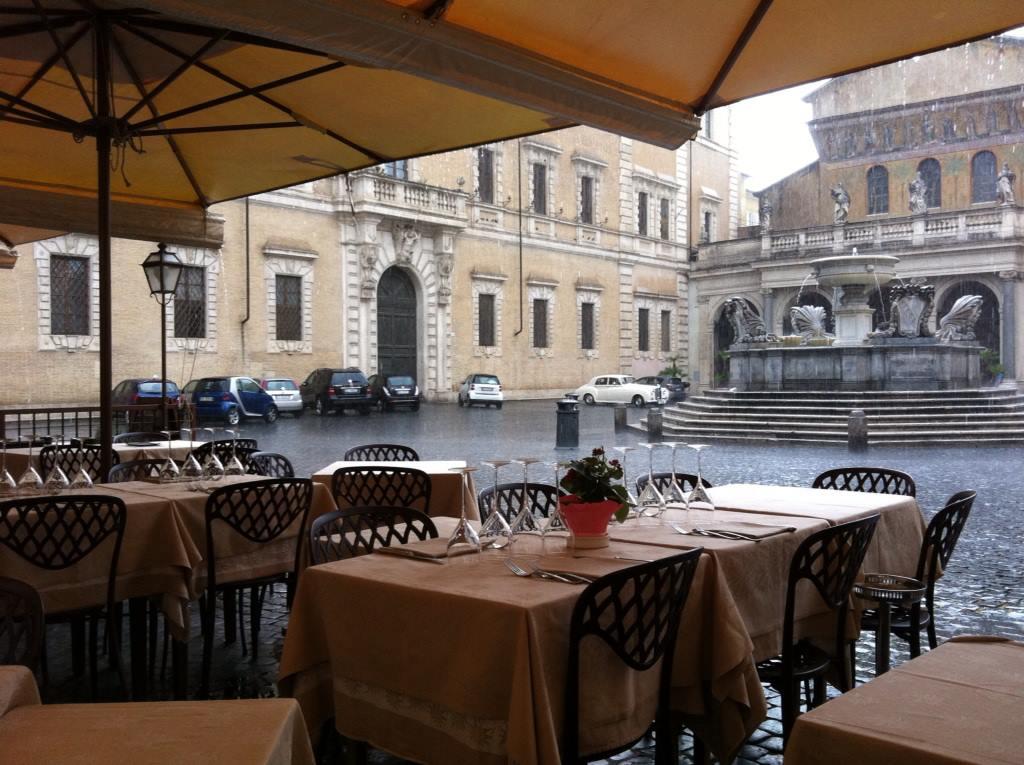 ресторан Сабатини в Риме