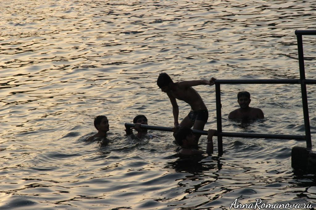 Удайпур купание вечером