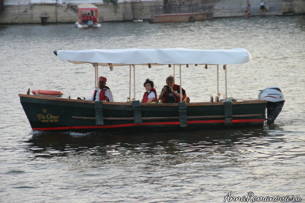 Лодки в Удайпуре