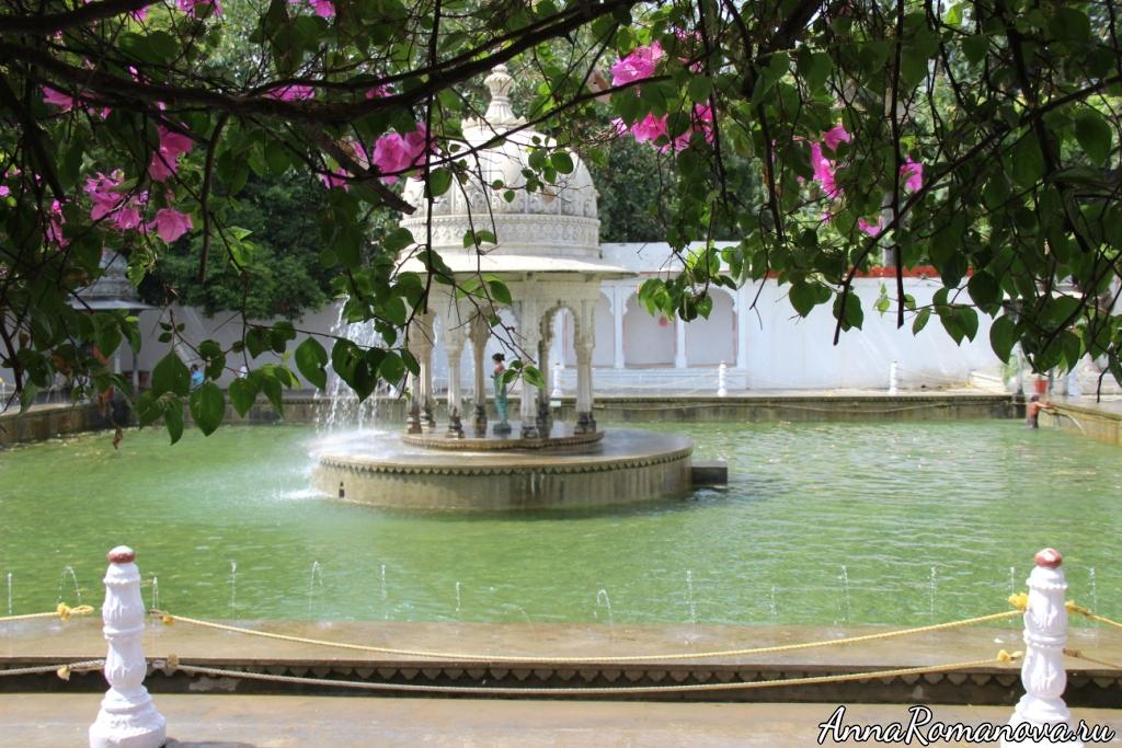 Дворцы в Удайпуре