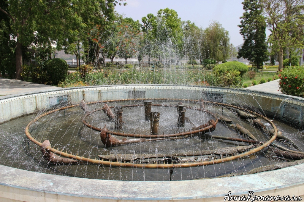 Фонтан в Удайпуре