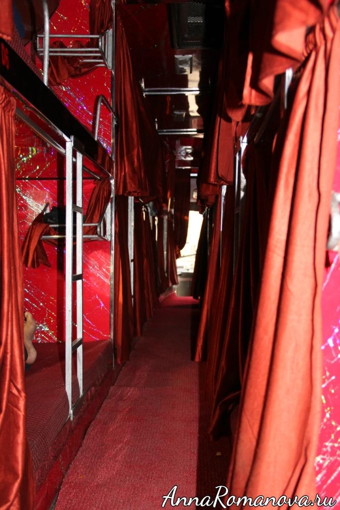 Индийский спальный автобус