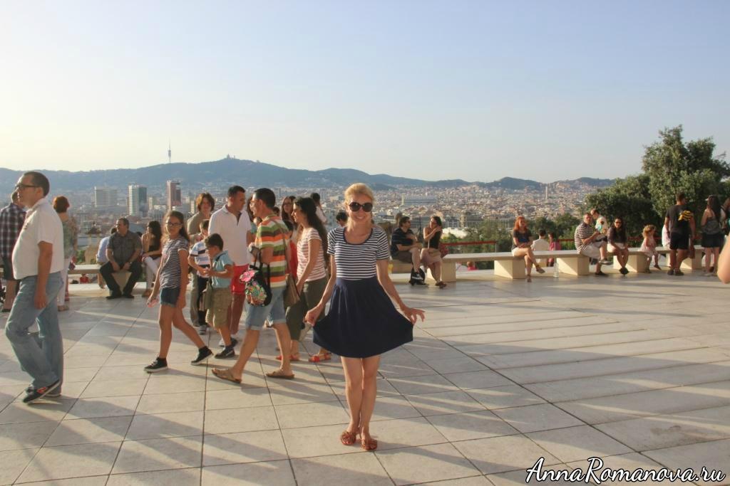 Смотровая площадка в Барселоне