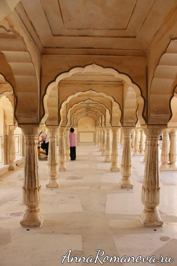 дворец форт амбер джайпур