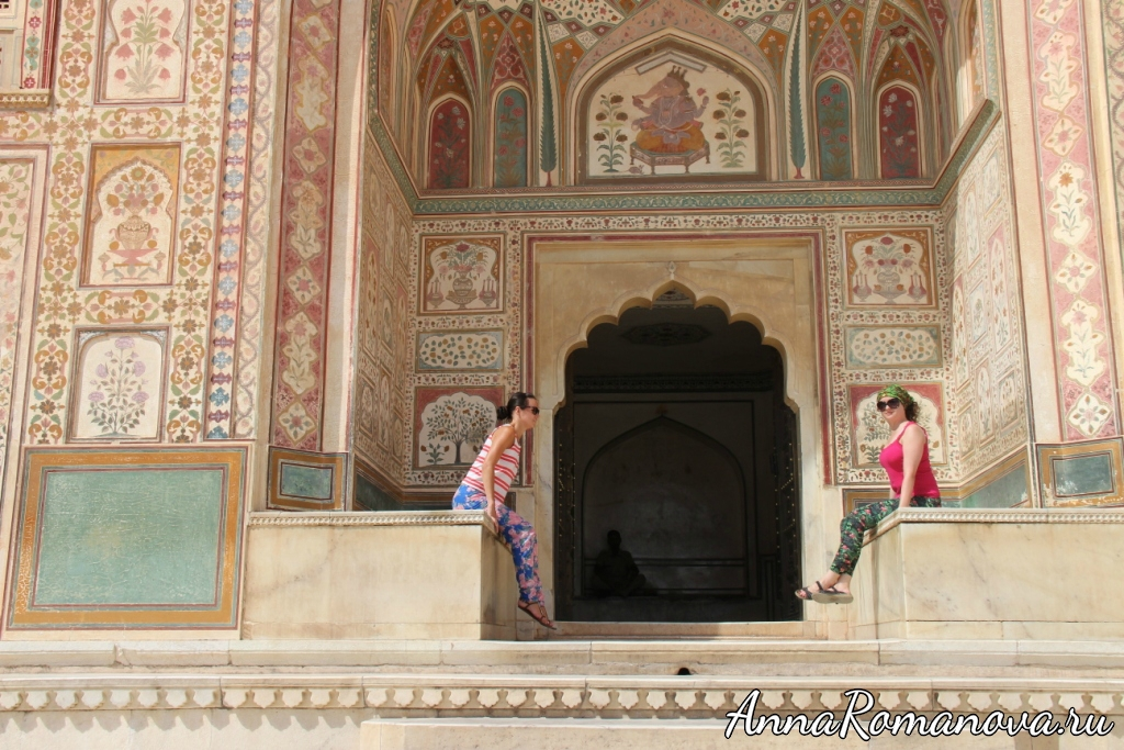 форт амбер дворцы джайпур