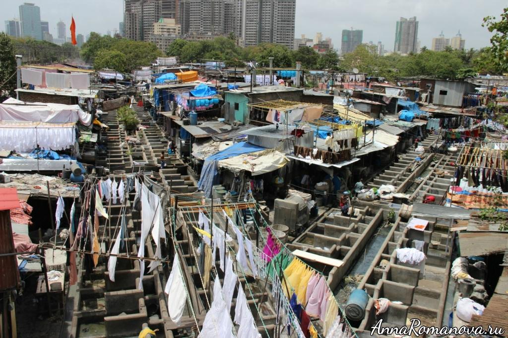 бедные районы Мумбаи