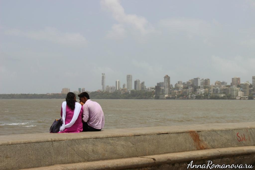 парочка в Мумбаи