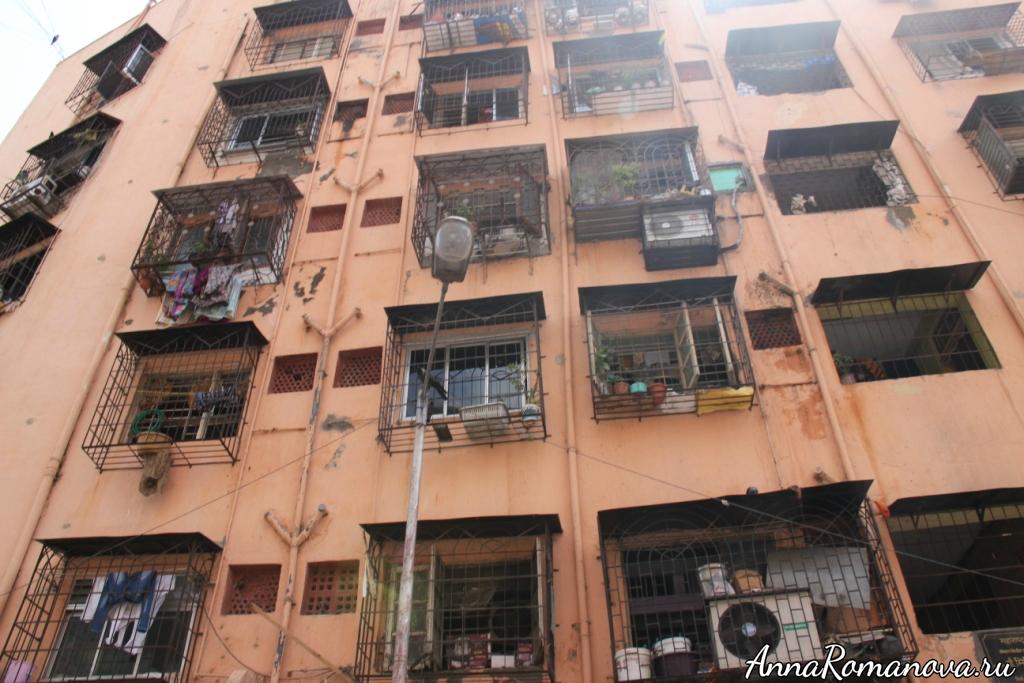 Мумбаи дома для бедных