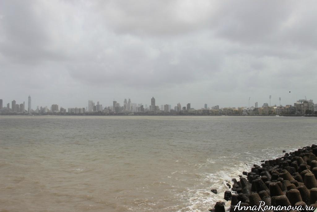 Мумбаи море и дома
