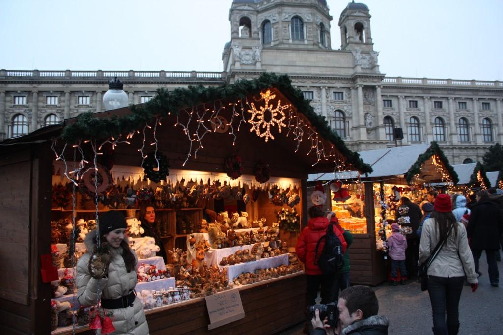 Рождественский базар в Вене