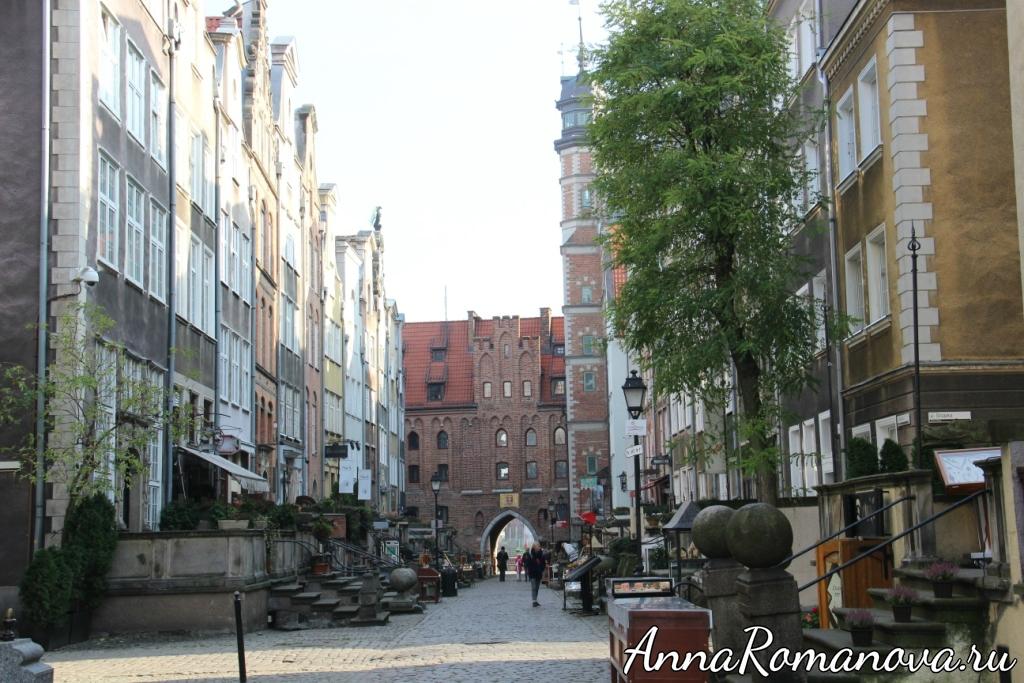 Мариацкие ворота Гданьск