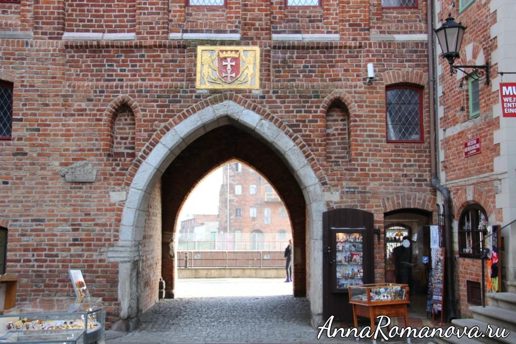 Мариацкие ворота выход на набережную