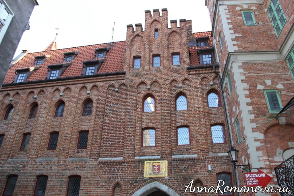 Мариацкие ворота в Гданьске