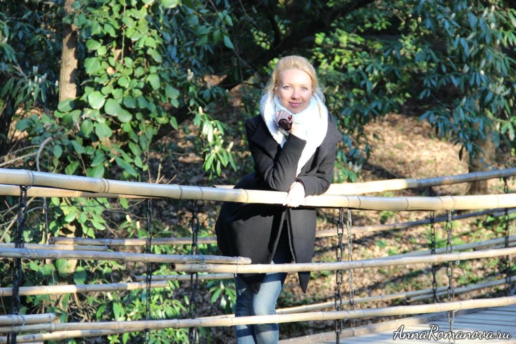 Анна Романова дендрарий в Сочи