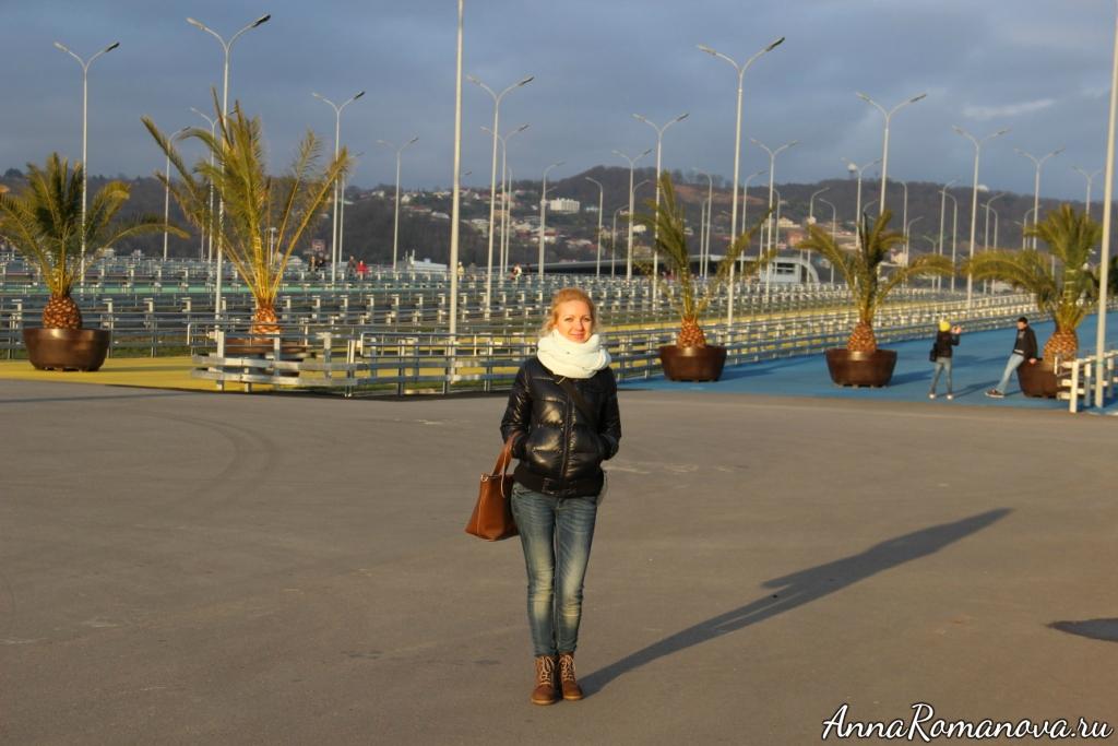 Анна Романова олимпийский парк в Сочи