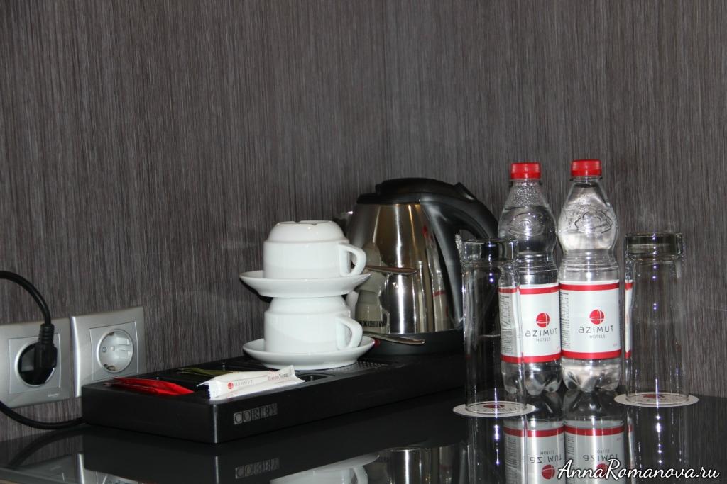 азимут отель резорт и спа сочи вода в номере