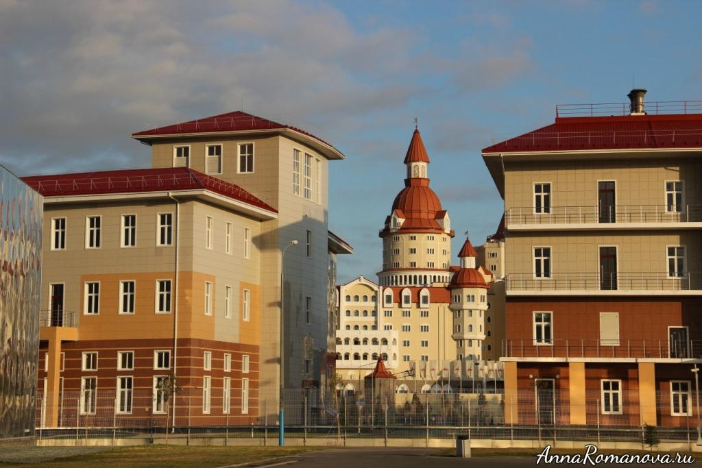 Олимпийский парк и отель Богатырь Сочи
