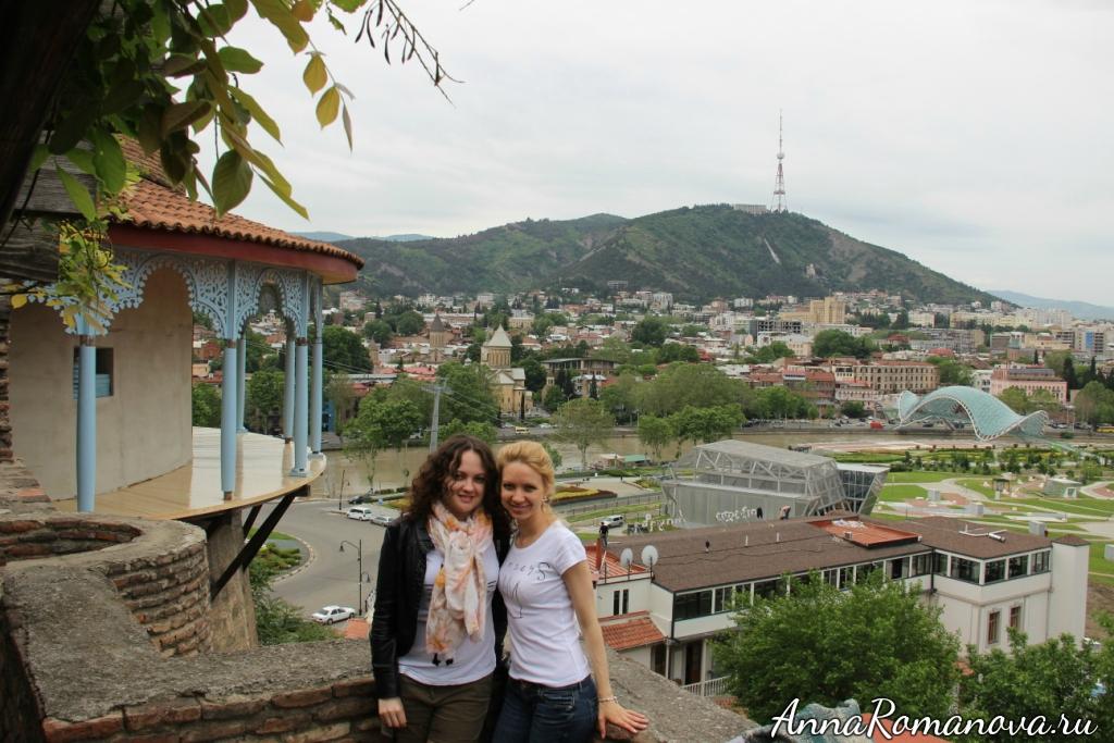 Анна Романова Анастасия Романова в Тбилиси