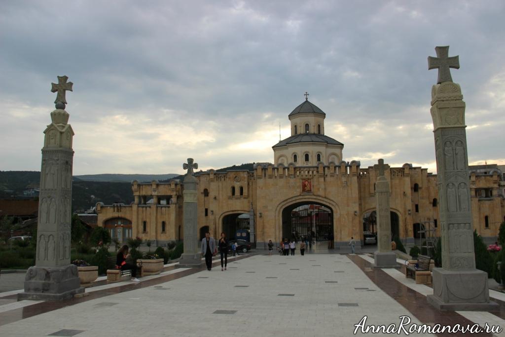 Тбилиси Собор святой Троицы