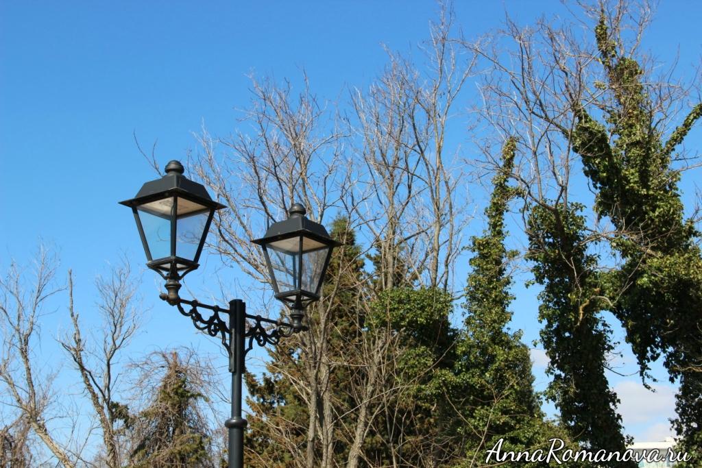 фонари в адлере