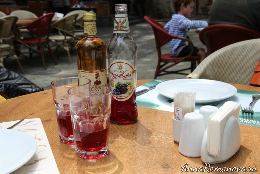 лимонад в Грузии