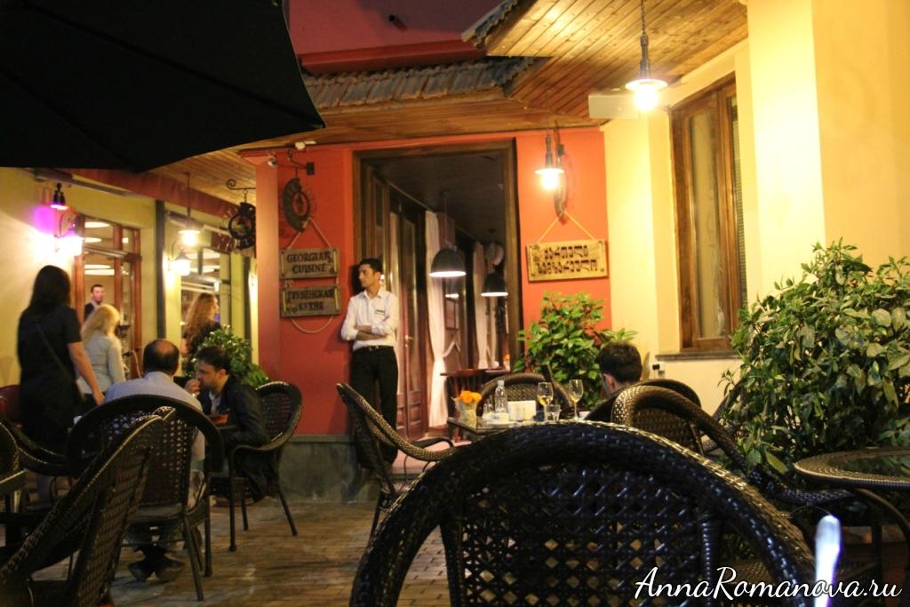 ресторан тифлисо в тбилиси