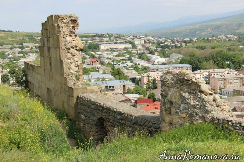 Горисцихе крепость