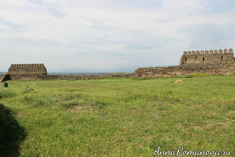 крепость Горисцихе территория