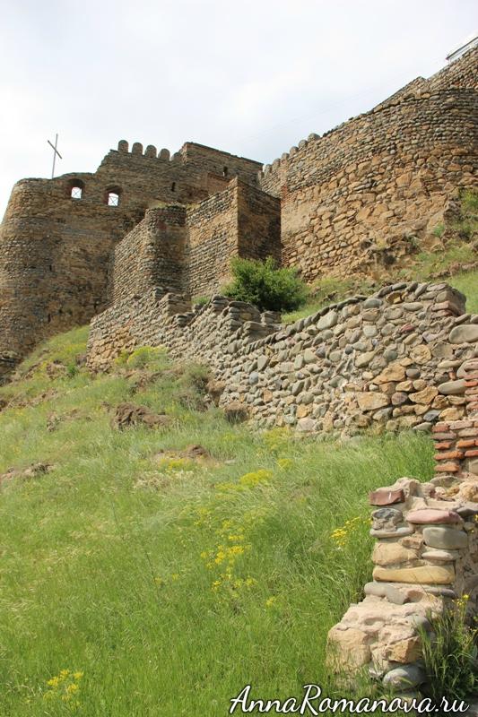 подъем на крепость Горисцихе