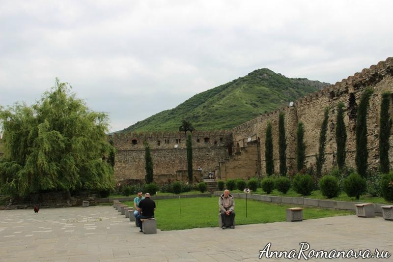 светицховели крепостная стена