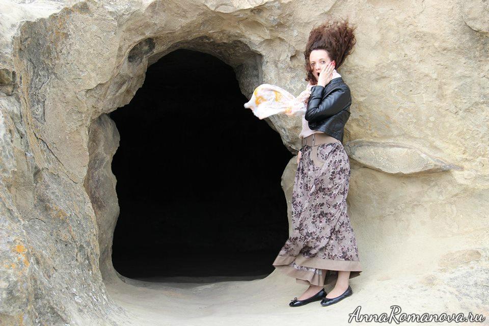Уплисцихе вход в пещеру