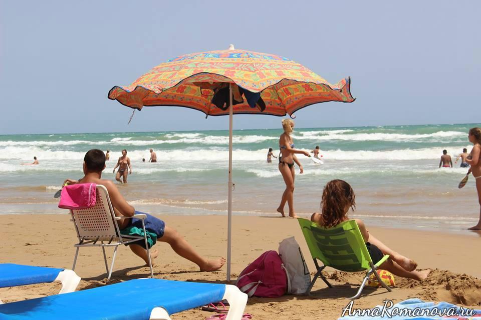 Торревьеха пляж
