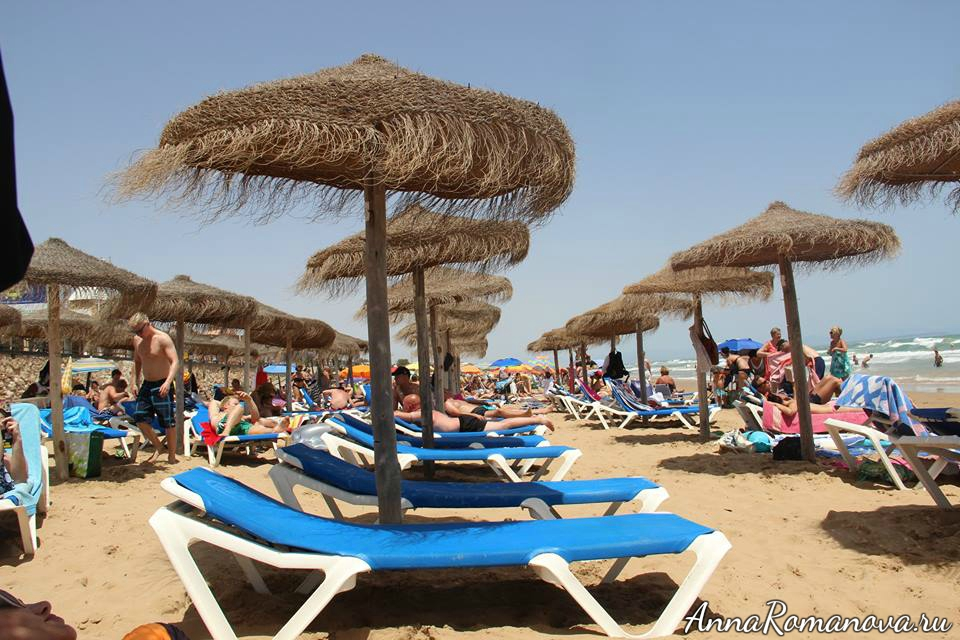 море пляж торревьеха