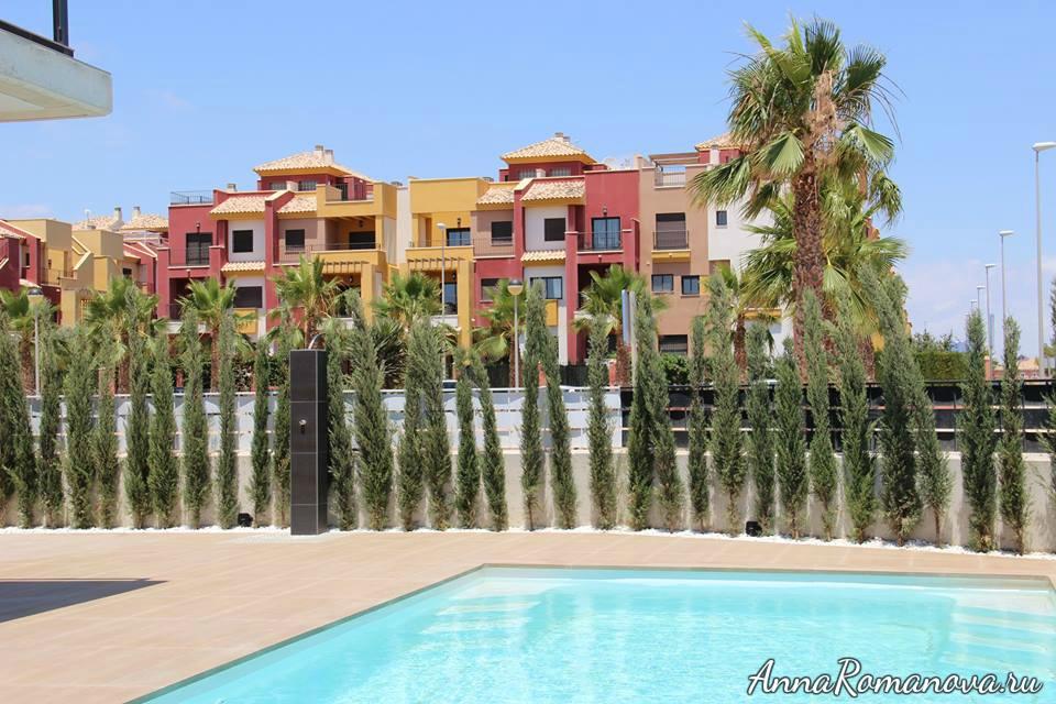 новые дома в Торревьехе
