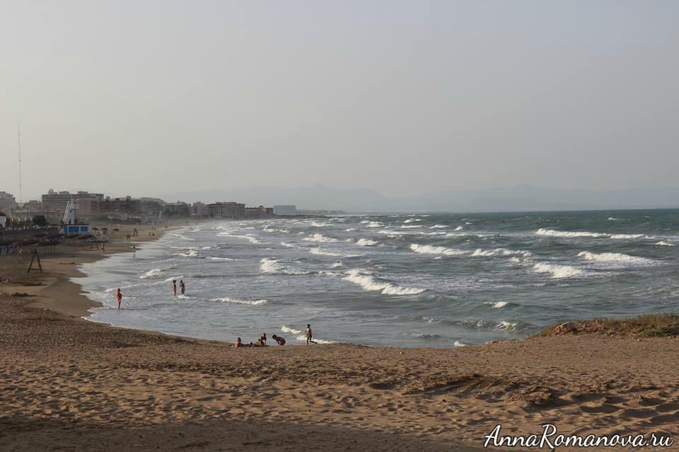 песчаные пляжи Торревьеха