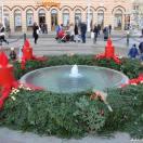 свечи адвента фонтан загреб