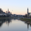 Река Зальцах. Зальцбург