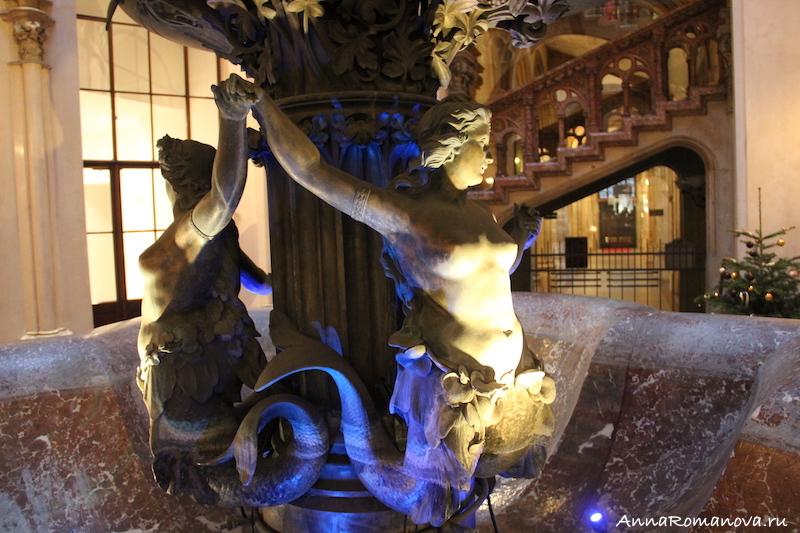 Вена скульптуры