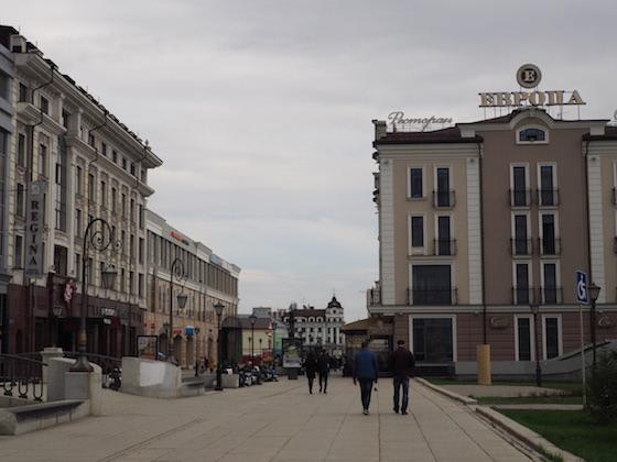 петербургская улица казань