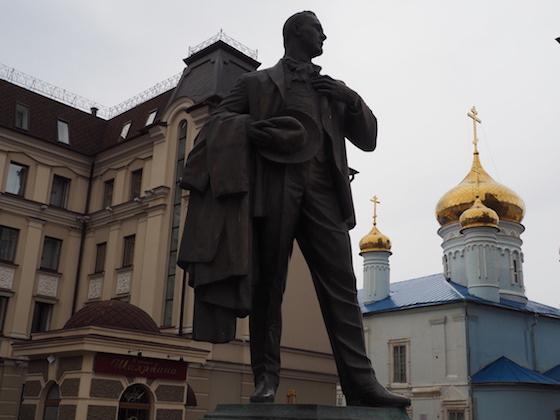 памятник шаляпину в казани
