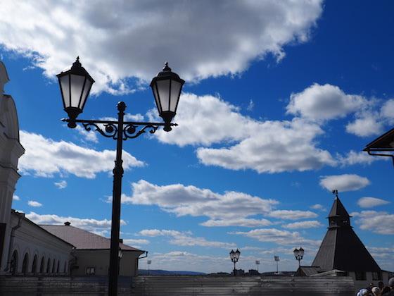 территория казанского кремля